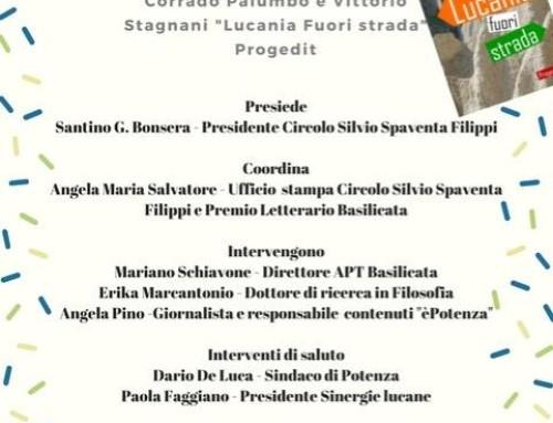 PRESENTAZIONE DEL LIBRO LUCANIA FUORI STRADA